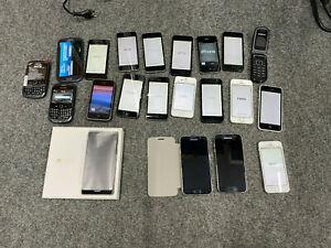 1 (20 Stück) Kiste Handys (iPhone, Huawei, Samsung, BlackBerry)