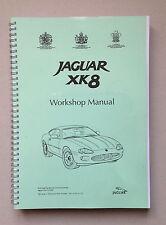 Manuel d'entretien Jaguar XK8 X100