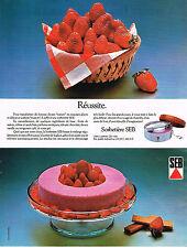 PUBLICITE ADVERTISING  1978   SEB  sorbetière