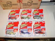 2004 JOHNNY LIGHTNING 1/4000 MOPAR OR NO CAR 1969 DODGE DART CUDA GTX BUNDLE 6