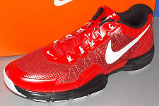 MENS NIKE LUNAR TR1 in colors UNIVERSITY RED / WHITE / BLACK SIZE 8.5