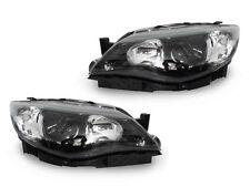 JDM Black Clear Projector Headlights For 2008-2011 Subaru Impreza STi w/ Halogen