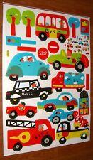 Baby Children Kid Boy Car Truck Bus Fire Engine Wall Sticker Decal Stickaround