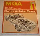 Repair Manual MG A / Mga, Year of Construction 1955 - 1962