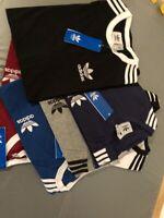 adidas Originals Mens Sports T Shirt Retro California Short Sleeve Crew neck Tee