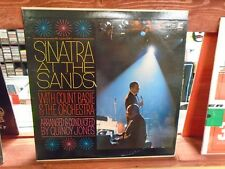 Frank Sinatra At The Sands 2x LP Reprise [Mono Quincy Jones] Records VG+