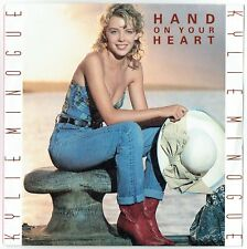 """KYLIE MINOGUE - 7"""" - Hand On Your Heart. Holland Picture Sleeve.  CNR"""