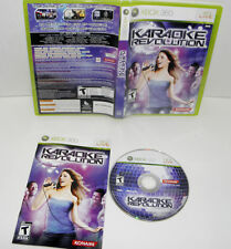 Karaoke Revolution (Microsoft Xbox 360, 2009) game only