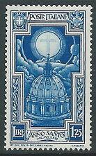 1933 REGNO ANNO SANTO 1,25 LIRE MNH ** - CZ29-3