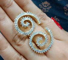 Indian Bridal Jewelry Bollywood American Diamond PartyWear Earrings fashion Lady