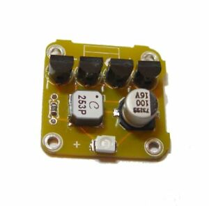 70mV Joule Thief powered by peltier TEG with body heat, green LED
