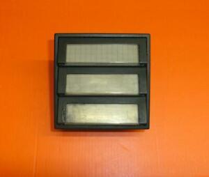 Siedle TM 511-03 B Klingeltaster 3fach Tastenmodul Brauen TM511-3