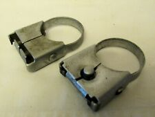 Pair Graflex 2771 Mounting Clamps for 2 & 3 Cell Flash Handle