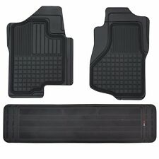 Custom Liners 3D Heavy Duty Rubber Floor Mats for Chevy Silverado 2007-2014 3pc