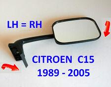 Citroen C15 Van 1989 - 2005 droit ou gauche Porte Aile Miroir OE: 96029034YB