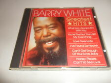 Cd   Barry White  ‎– Greatest Hits
