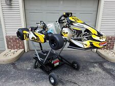 PCR Kart, 125cc Parilla Leopard, and Streeter Stand Complete Race Package