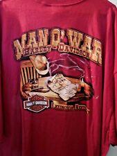 NWT - Harley Davidson Motorcycles - 4XL - Man o War Harley Store T Shirt