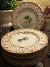 (8) Fitz & Floyd-Le Canard-9.5�-Salad Plates-French Country/Cottage-Free Ship!