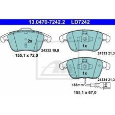 Audi q3 UAT Ceramic Plaquettes De Freins Devant VW Sharan Tiguan Seat Alhambra