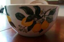 NEW Royal Norfolk Greenbrier International Yellow Lemon Bowl