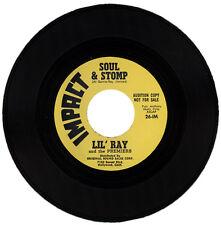 "LIL' RAY (aka RAY JIMINEZ) And The PREMIERS  ""SOUL & STOMP""  60's R&B"