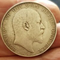 1902-1910 EDWARD VII SILVER HALFCROWNS DECENT GRADES PICK THE COIN YOU WANT