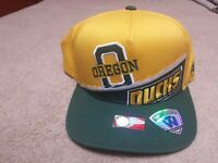 Oregon Ducks Hat New with tags Snapback Adjustable Top of the World Cap NCAA