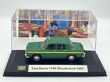 Taxi Dacia 1100 Nouakchott 1997 1/43 neuve avec boite vitrine.
