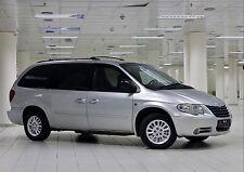 Chrysler Grand Voyager Dodge Caravan Mk4 Wind Rain Deflectors 2 pcs 2001-2007