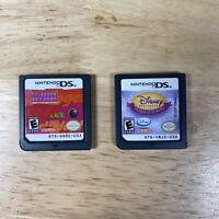 Lot of 2 Nintendo DS Games: Princess Natasha - Disney Princess Magical Jewels