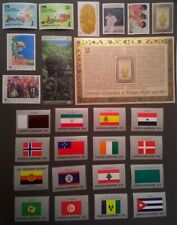 UN NY 1988 United Nations Scott 519-545 Complete MNH Year Set * With Flags