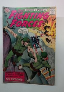 Our Fighting Forces No. 85 (Jul 1964, DC) Gunner and Sarge very good condition