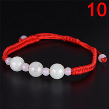1pc Jade Beads Red String Rope Bracelet Good Luck Lucky Success Moral Amulet 1