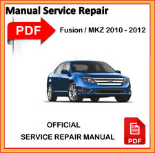 Lincoln MKZ & MKZ Hybrid 2010 2011 2012 Factory Service Repair Workshop Manual