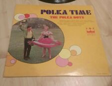 "The Polka Dots, Polka Time, Vinyl LP, Crown Records 12"" record monaural"