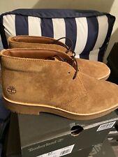 Timberland Size 8 Uk Classic Folk Gentleman Chukka Rust Suede Boots RRP £125.00