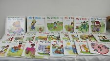 FIRST STEPS TO READING  MONCURE HARDCOVER CHILDRENS BOOKS (23) A-Z MISSING T