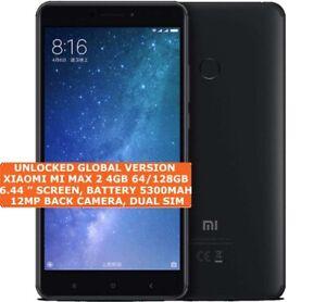 "Xiaomi Mi Max 2 4gb 64/128gb Double SIM 6.44 "" Écran Android 7.1 4g Smartphone"