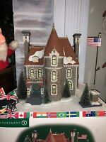 Department 56 The Consulate Christmas in the City Series 56.589551 Original Box