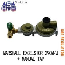 MARSHALL LPG 2 STAGE HIGH CAPACITY REGULATOR - 290MJ + MANUAL CHANGEOVER TAP