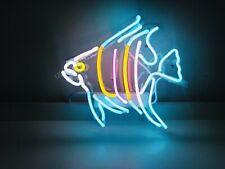 "New Tropical Fish Neon Sign Acrylic Gift Light Lamp Bar Wall Room 14""x10"""
