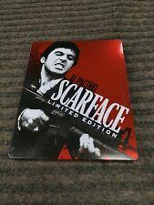 Scarface Blu-ray/DVD 2-Disc Set, Limited Edition Steelbook w/ postcard Al Pacino