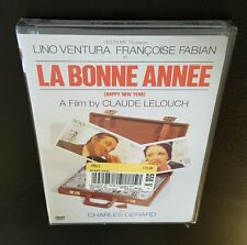 La Bonne Annee (DVD, 2003) Claude Lelouch 1973 French film Lino Ventura NEW