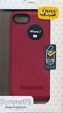 "iPhone 7 ~OtterBox SYMMETRY ""Rossa Corsa"" Red Phone Case ~Reg $40"
