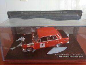 COCHE 1/43, ALTAYA, MODELO SEAT 124- 1600 CRITERIUM L. DE BAVIERA 1972.