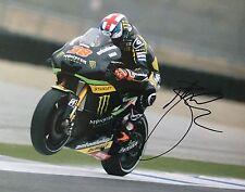 Bradley Smith signed Moto GP 10x8 photo Image E UACC Registered dealer
