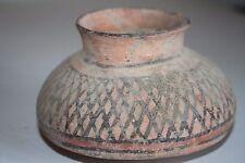 Antica della valle dell'Indo Pottery Cup 2800 1800 A.C. harappan