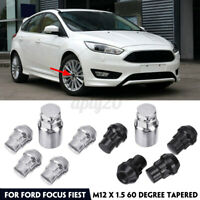 4+1 M12 x 1.5  Boulons Ecrous Antivol de Roue Jante Pneu pour Ford Focus Fiest