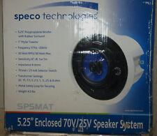 """SPECO SP-5MA/T 5 1/4"""" 70/25V Commercial Ceiling Speaker"""